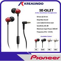 Pioneer SE-QL2T / SE QL2T / SELQL2T In Ear Earphone Headset Resmi