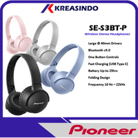 Pioneer SE-S3BT / SE S3BT Bluetooth Wireless Headphone Garansi Resmi