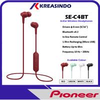 Pioneer SE-C4BT / SE C4BT In Ear Wireless Bluetooth Earphone Headset