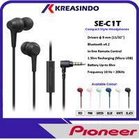 Pioneer SE-C1T / SE C1T /SEC1T In Ear Earphone Headset Garansi Resmi