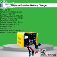 Maxtron Portable Battery Charger CB-10