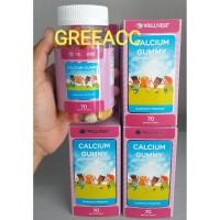 Wellness Calcium Gummy Kids kalsium anak 70 gummies ( 60 + 10 ) - eef4