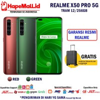 REALME X50 PRO 5G RAM 12/256GB GARANSI RESMI REALME INDONESIA TERMURAH