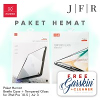 Xundd Beetle Case + Tempered Glass iPad Pro 10.5 2017 Air 3 2019 ORI