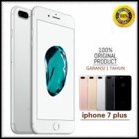 APPLE IPHONE 7 PLUS 128GB original GSM FU GARANSI PLATINUM 1 TAHUN