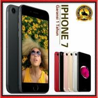 APPLE IPHONE 7 128GB ORIGINAL GSM FU GARANSI PLATINUM 1 TAHUN