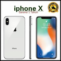 APPLE IPHONE X 64GB FU GSM SILENT CAMERA GARANSI 1 TAHUN