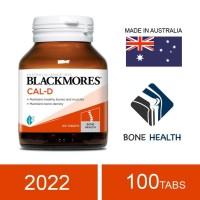 Blackmores Cal-D Calcium 600 mg + Vitamin D3 500 IU, 100 Tablets