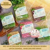 Mie Sehat Lingkar Organik Varian Rasa - buah naga