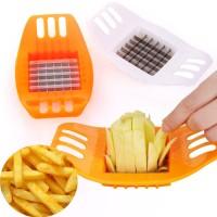 AD019 Alat Pemotong Kentang Pisau Potato Cutter French Fries Slicer
