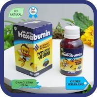 Obat Amandel Anak - Walatra Hexabumin - Madu + Albumin