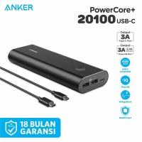Powerbank Anker PowerCore+ 20100 mAh USB-C Black - A1371