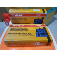Holesaw kit / hole saw kit / Mata Bor Pelubang Kayu 13 Pcs Vitatool