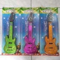 Mainan Gitar Chrome Anak 43 Cm