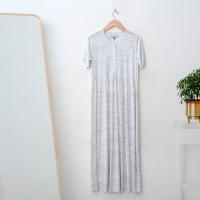BL02 - Greesia Long Dress Button - L