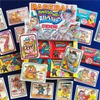 Us Back Kartu Koleksi Desain Baseball Monster 80 S All Star Hong Ko 1r