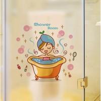 Stiker Dinding / Stiker Kaca Kamar Mandi (Shower Room)