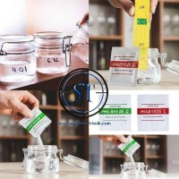 1 Set Bubuk Kalibrasi PH Meter Serbuk Solution Asam Basa Buffer Powder
