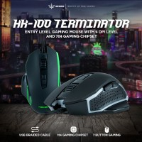NYK Nemesis HK-100 Mouse Gaming RGB Terminator