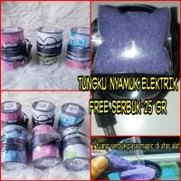 Tungku obat nyamuk electik + free serbuk 25 gr