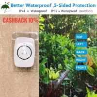 Bel Rain Cover Pelindung Tombol Bel Rumah Anti Hujan Transparan Kuat