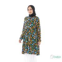 Atasan Muslim Wanita | Arabelle Tunik Hitam | Rayon Viscose | Original