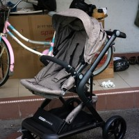 Kereta dorong Stroller Cocolatte T80an Mist Latte Brown up to 20kg