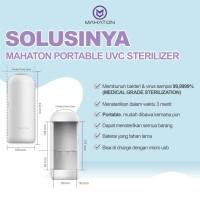 Mahaton Baby Max UV Sterilizer Portable + Free Travel Pouch White