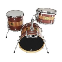 Pork Pie Percussion Rosewood Zebrawood Kit