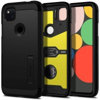 Spigen Tough Armor Designed for Google Pixel 4a Case (2020) - Black
