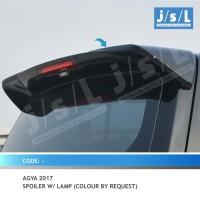 New Agya 2017 Spoiler with Lamp / Aksesoris Toyota Agya
