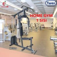 Home Gym 1 Sisi Twen HG520 Hitam