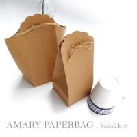 AMARY PAPERBAG : WEDDING SOUVENIR PAPER BAG / PAPERBAG GELAS / DUS