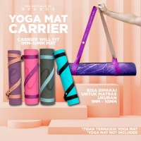 SVARGA Yoga Mat Carrier 2MM - 10MM Yoga Strap Sabuk Yoga