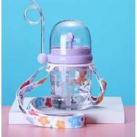 Botol Minum Anak Karakter Air Mancur+TALI 260ml - B819-1
