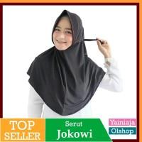Jilbab Serut L Pet Antem Mazoya Adiba Jokowi Hijab Khimar Instan