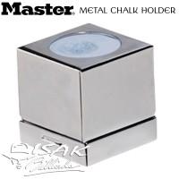 Metal Chalk Box Holder - Silver Case Kapur Billiard Cover Cuk Biliar
