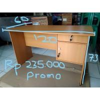 Meja tulis / Meja kantor meja kerja Termurah 120cm