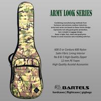 Bartels Gigbags Tas Gitar Army Look Series - Hijau