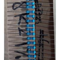 Resistor 8K2 Ohm 1% 1/2W Metal film