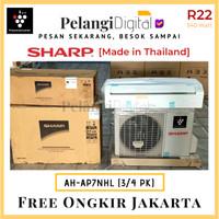 SHARP AC 3/4 PK PlasmaCluster Ion R22 Low Watt - AH-AP7NHL [Thailand]