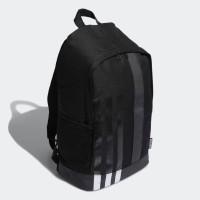 TAS Adidas 3STRIPES Black BACKPACK Original