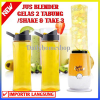 BLENDER PORTABLE/ SHAKE N TAKE 3 JUS BLENDER GELAS 2 TABUNG -100131