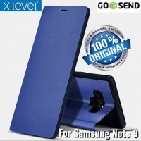 Samsung Galaxy Note 9 X-LEVEL FIB COLOR Flip cover Leather Case Kulit