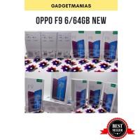 Oppo f9 6/64 ram 6gb rom 64gb kondisi new - blue