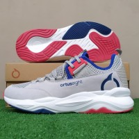 Sepatu Running Sneakers Ortuseight Colosus - Grey/Navy/Off White
