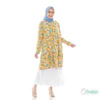 Atasan Muslim Wanita | Arabelle Tunik Kuning | Rayon Viscose |Original