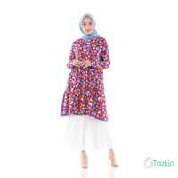 Atasan Muslim Wanita | Arabelle Tunik Magenta | Rayon Viscose Original