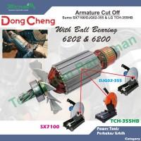 Armature/Angker Cut Off SX7100/DJG02-355 & LG TCH-355HB DongCheng