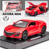 DIECAST Miniauto ORIGINAL MOBIL HONDA ACURA NSX SUPER CAR Skala 1:32